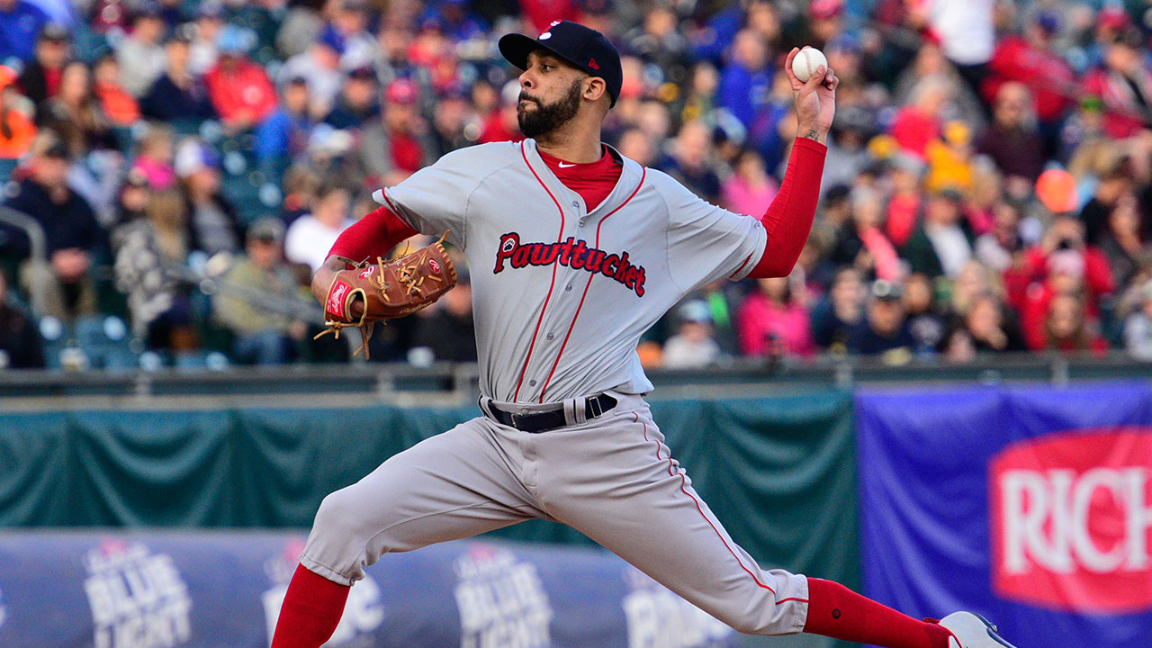 Price pitches 2 innings in first rehab start