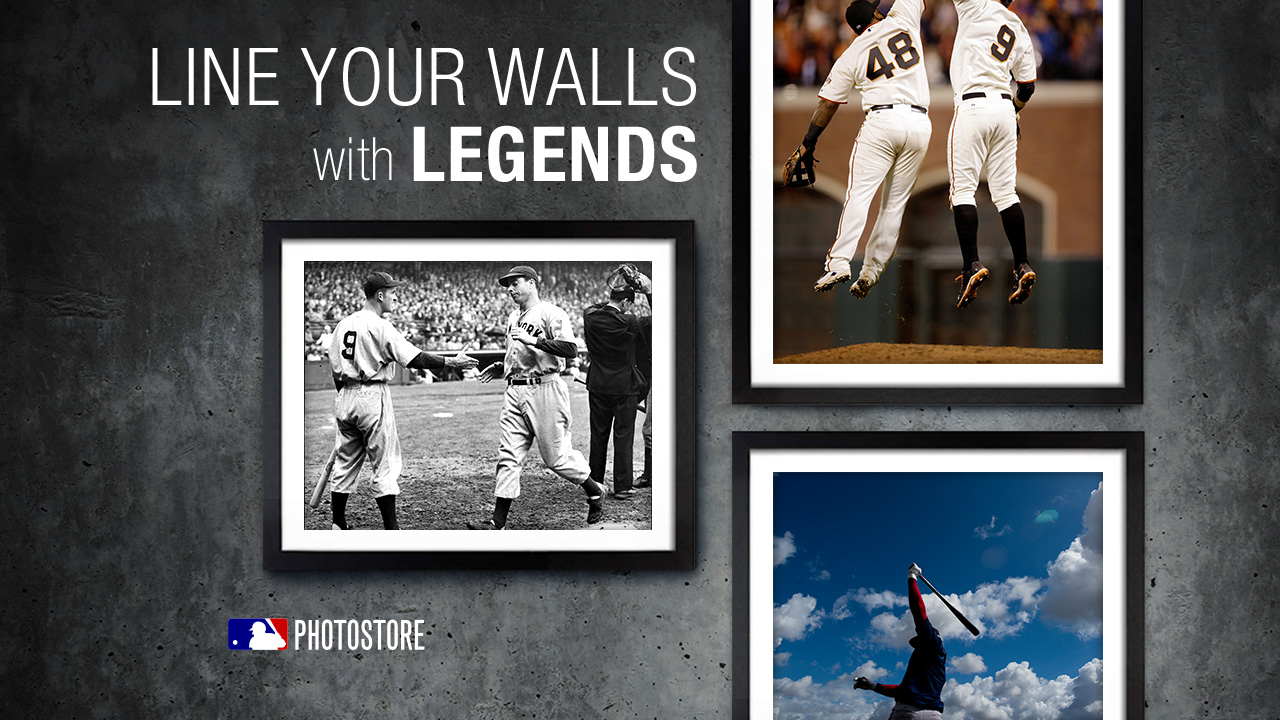 MLB Photostore captures season's best moments